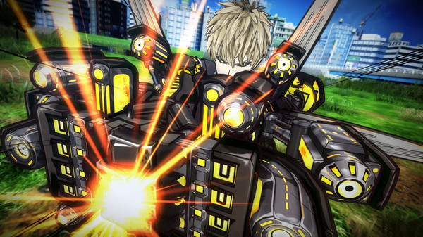 скриншот ONE PUNCH MAN: A HERO NOBODY KNOWS 3