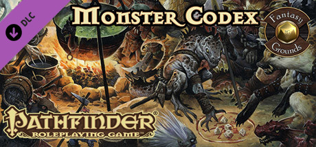Fantasy Grounds - Pathfinder RPG - Monster Codex (PFRPG)