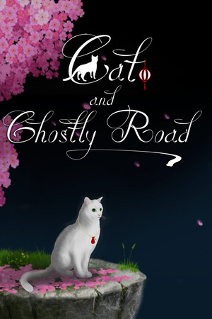 Cat and Ghostly Road poster image on Steam Backlog