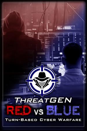 ThreatGEN: Red vs. Blue poster image on Steam Backlog