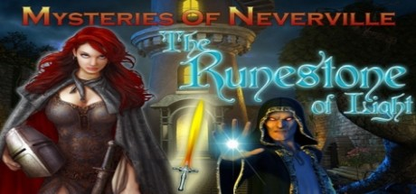 Mysteries of Neverville: The Runestone of Light cover art