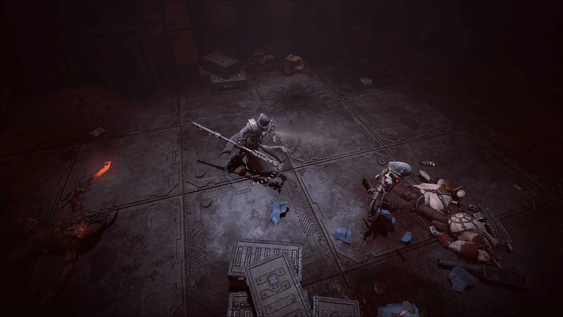 Warhammer 40,000: Inquisitor - Martyr: Servo Commissar-skull 2019 pc game Img-4