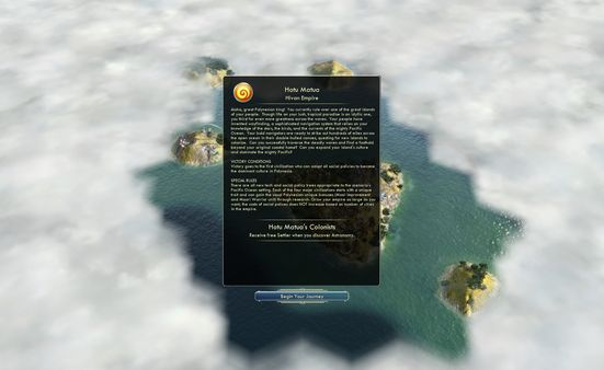 Civilization V - Civ and Scenario Pack: Polynesia (DLC)
