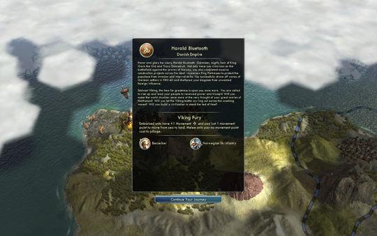 Скриншот из Civilization V - Civ and Scenario Pack: Denmark (The Vikings)
