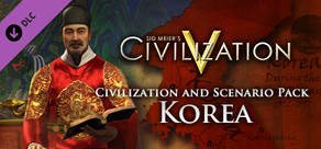 Civ and Scenario Pack - Korea cover art