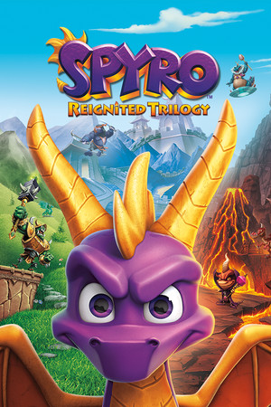 Spyro Reignited Trilogy poster image on Steam Backlog
