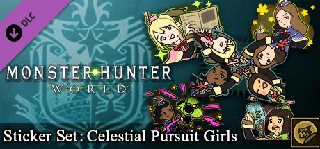 Monster Hunter: World - Sticker Set: Celestial Pursuit Girls