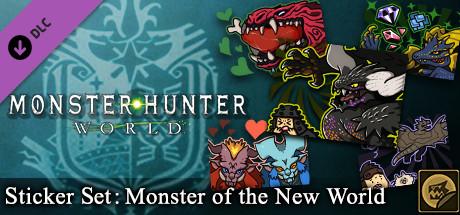 Monster Hunter: World - Sticker Set: Monsters of the New World