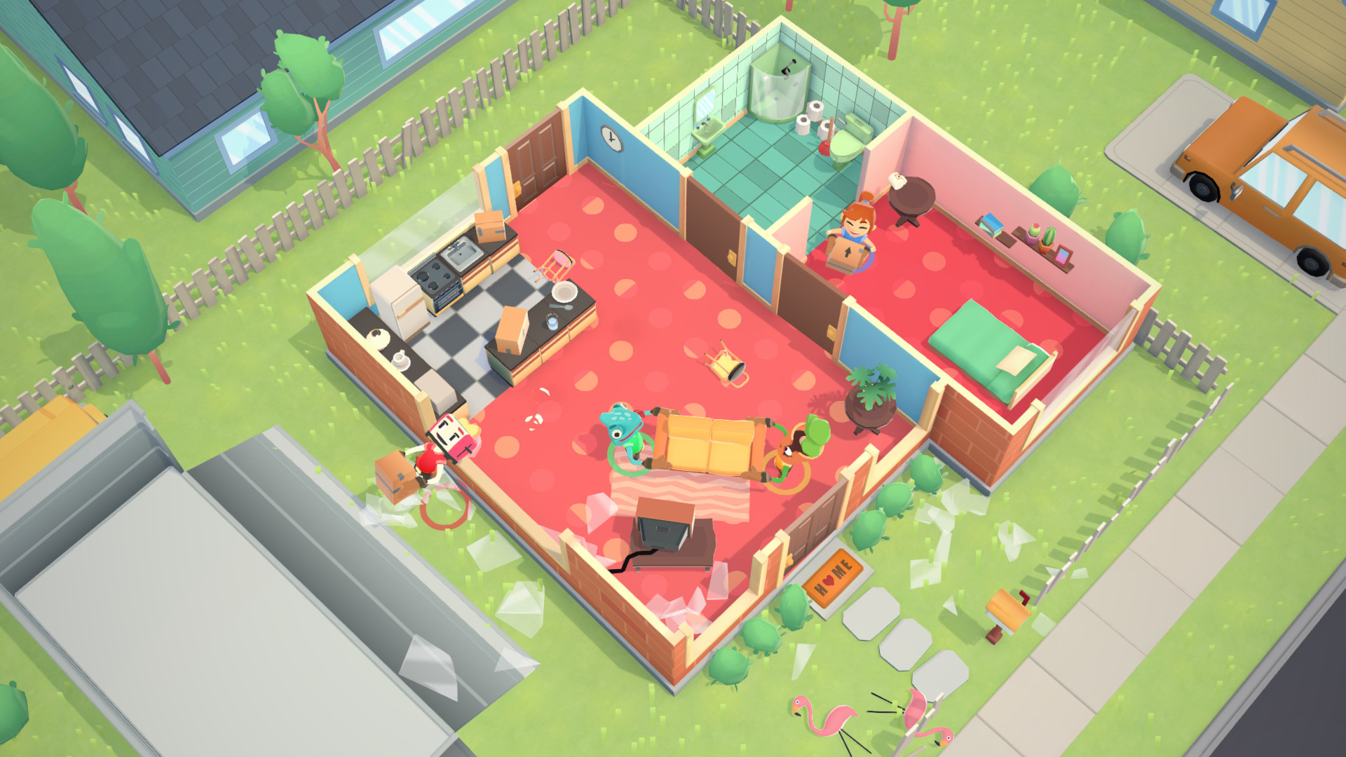 Image result for moving out game