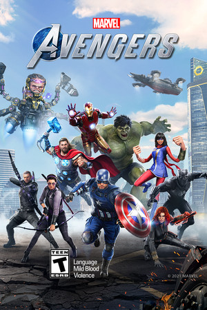 Marvel's Avengers poster image on Steam Backlog