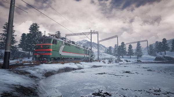скриншот Trans-Siberian Railway Simulator 9