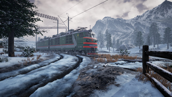 скриншот Trans-Siberian Railway Simulator 0