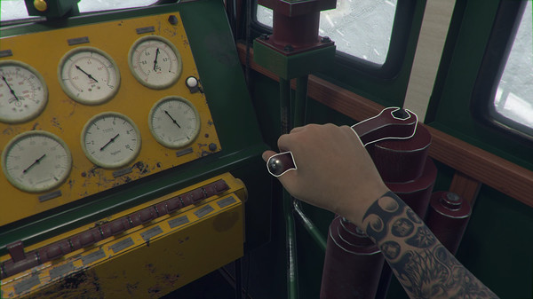 скриншот Trans-Siberian Railway Simulator 13