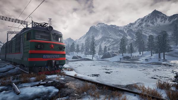 скриншот Trans-Siberian Railway Simulator 11