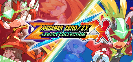 Mega Man Zero/ZX Legacy Collection cover art