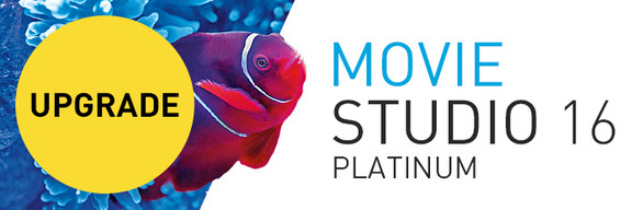 Upgrade to VEGAS Movie Studio 16 Platinum