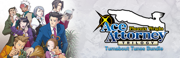 Phoenix Wright: Ace Attorney Trilogy - Turnabout Tunes Bundle / 逆転裁判123 成歩堂セレクション - コレクターズパッケージ