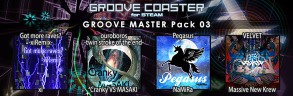 Groove Coaster - GROOVE MASTER Pack 03