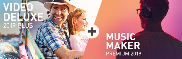 Video Deluxe 2019 Plus + Music Maker 2019 Premium