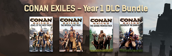 Conan Exiles - Year 1 DLC Bundle · BundleID: 10343 · Steam