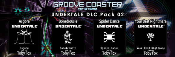 Groove Coaster - UNDERTALE DLC Pack 02