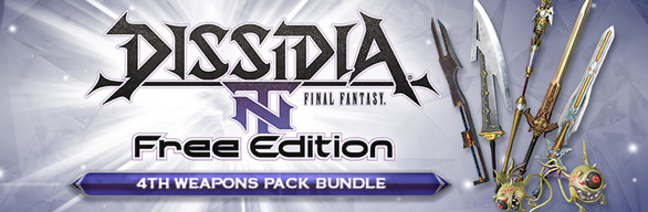 DISSIDIA® FINAL FANTASY® NT Weapon Pack