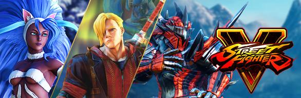 Street Fighter V - Capcom Costumes Bundle1