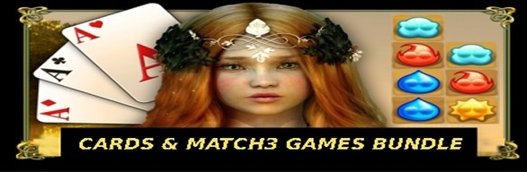 Cards and Match3 Games Bundle