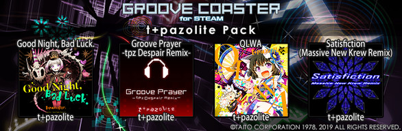 Groove Coaster - t+pazolite Pack