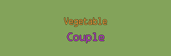 Vegetable couple🍆 FULL