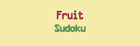 Fruit Sudoku🍉 FULL