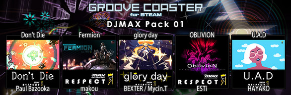 Groove Coaster - DJMAX Pack 01