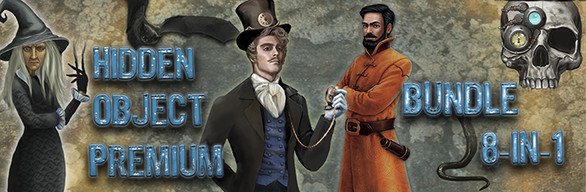 Hidden Object Premium Bundle 8-in-1