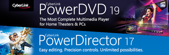 CyberLink PowerDVD 19 Ultra & PowerDirector 17 Ultra