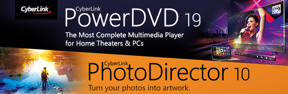 CyberLink PowerDVD 19 Ultra + PhotoDirector 10 Ultra