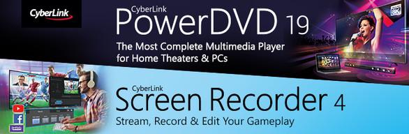 CyberLink PowerDVD 19 Ultra + Screen Recorder 4