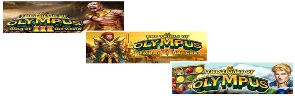 The Trials of Olympus 1-3 Bundle