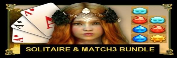 CARD & MATCH3 GAMES BUNDLE 10 in 1