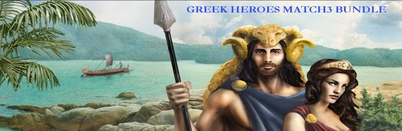 GREEK HEROES MATCH3 BUNDLE