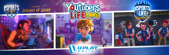 U-Play Collection: Youtubers + Esports Life Collection