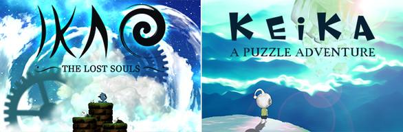 BUNDLE : KEIKA - A Puzzle Adventure + IKAO The Lost Souls