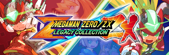 MEGA MAN ZERO/ZX LEGACY COLLECTION / ロックマン ゼロ&ゼクス ダブルヒーローコレク..