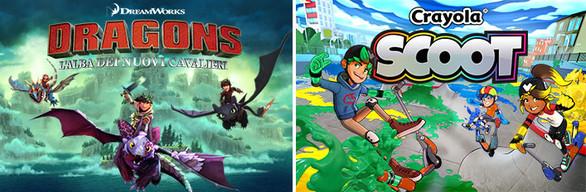 DreamWorks Dragons Dawn of New Riders - Crayola Scoot Bundle