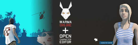 WARMA ONLINE + Open character editor