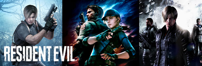 Resident Evil 4/5/6 on Steam