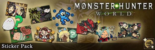 Monster Hunter: World - Sticker Pack