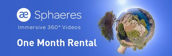 SPHAERES | Immersive 360° Videos | One Month Rental