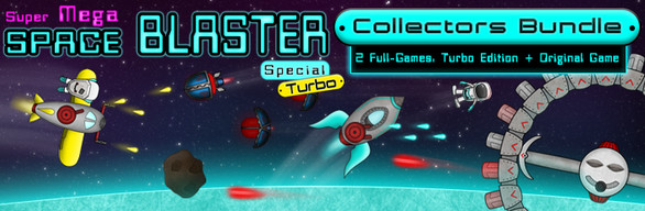 Collectors Space Blaster Turbo Bundle