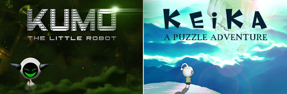 BUNDLE : KEIKA : A Puzzle Adventure + KUMO The Little Robot