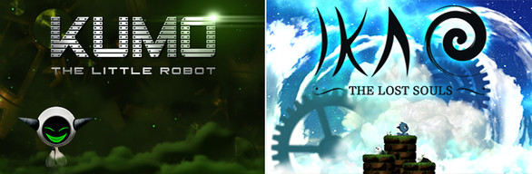 BUNDLE : KUMO The Little Robot + IKAO The Lost Souls